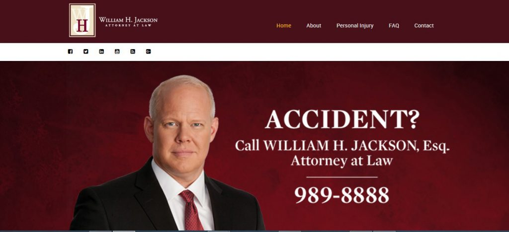 William H Jackson Law