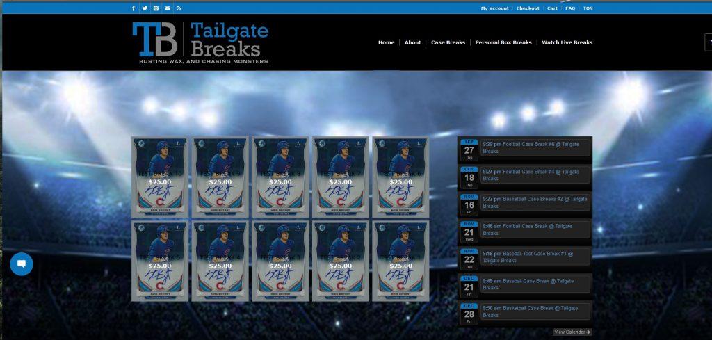 Tailgate Breaks